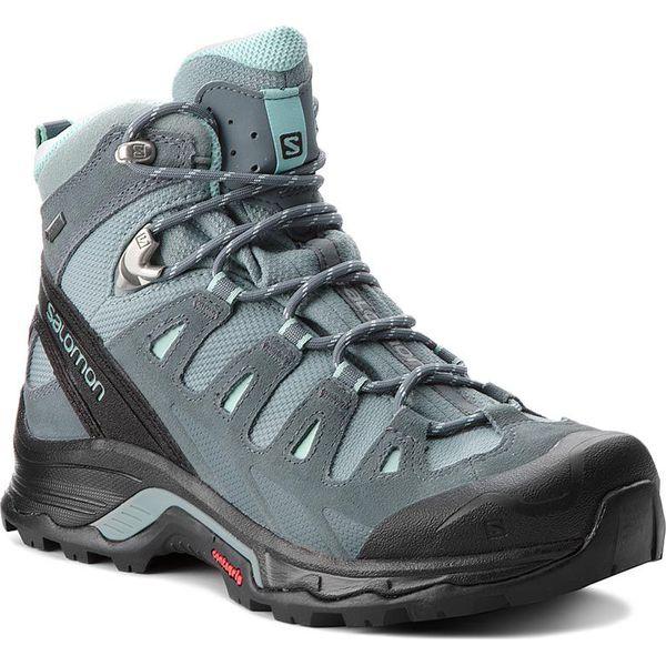 4d8889f6 Trekkingi SALOMON - Quest Prime Gtx W GORE-TEX 404636 22 V0 Lead/Stormy  Weather/Eggshell Blue - Obuwie trekkingowe damskie Salomon.