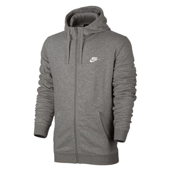 5cbf4bb2 Nike Bluza męska NSW Hoodie FZ szara r. XL (804391-063)