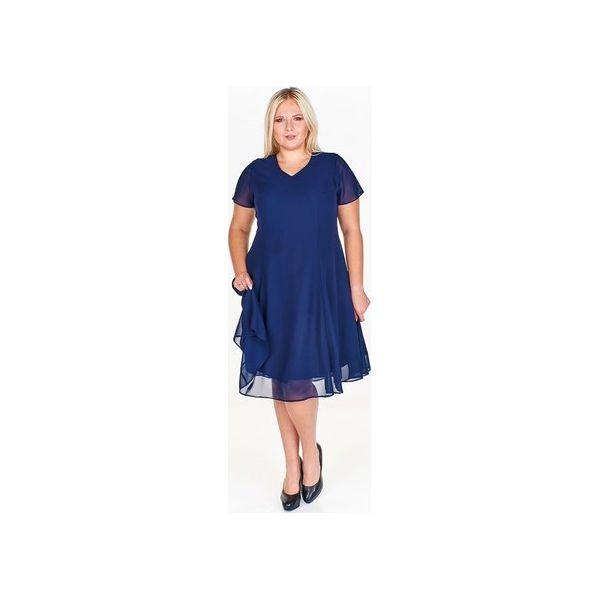 9f748a37f56a49 Koktajlowa sukienka ze zwiewnej tkaniny - Sukienki damskie Bird. Za ...