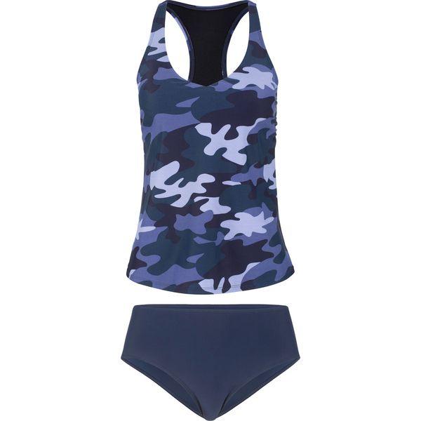 80867efbb33cde Tankini (2 części) bonprix niebieski - Bikini damskie bonprix. Za ...