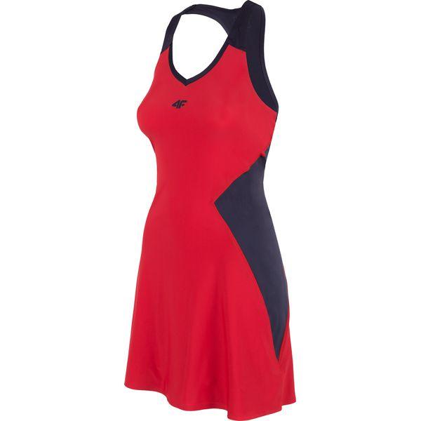 b0d1efa316 Sukienka do tenisa SUDD401 - czerwony - Sukienki damskie marki 4f ...