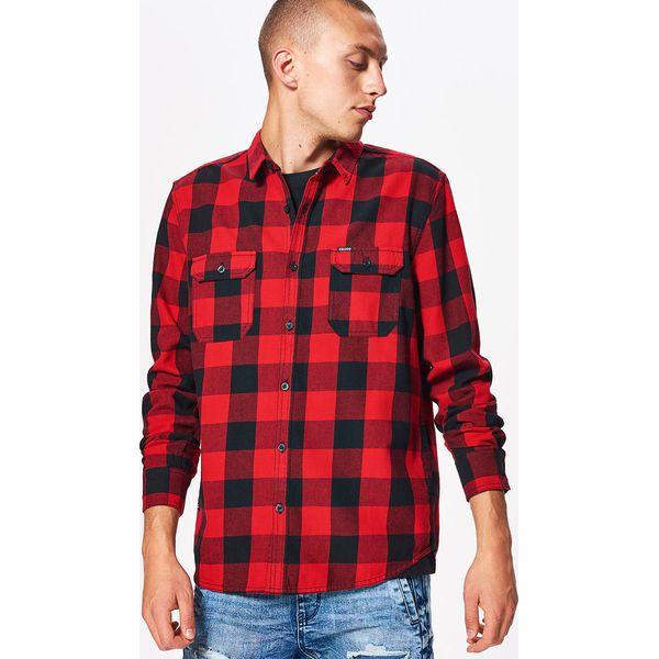 154b74e4a476df Koszula w kratę z kolekcji BALTIC GAMES - Czerwony - Koszule męskie ...