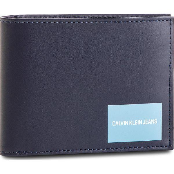 b32b99dfc3c58 Duży Portfel Męski CALVIN KLEIN JEANS - Coated Canvas Billfold W Coin  K40K400836 449 - Portfele męskie marki Calvin Klein Jeans. Za 279.00 zł.