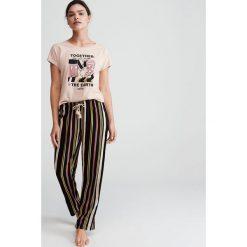 7d499f4077c0ab Piżama Disney - Kremowy. Białe piżamy damskie Reserved, l, bez wzorów, bez