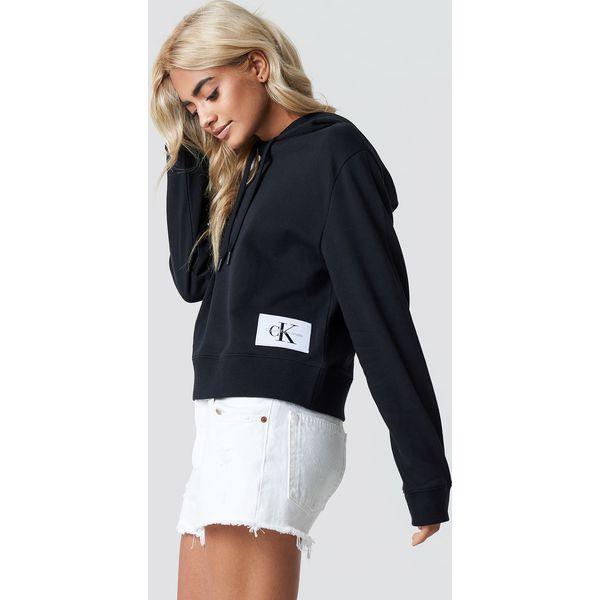 fabe5c0db5325 Calvin Klein Bluza z kapturem Harrisom True Icon - Black - Bluzy z ...