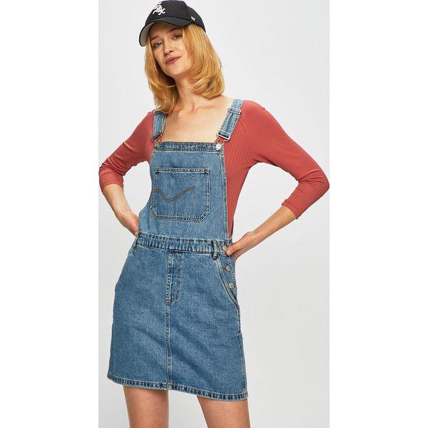 bdb548c2ae Only - Sukienka jeansowa - Sukienki damskie marki Only. Za 169.90 zł ...