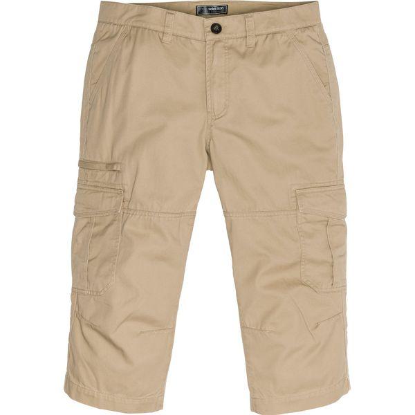 tak tanio wylot online sprzedaż obuwia Spodnie bojówki 3/4 Loose Fit bonprix piaskowy