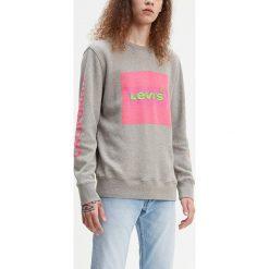 f26b8402d Bluza w kolorze szarym. Szare bluzy bez kaptura męskie marki Levi's Men, m,