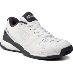 af3ac44dc6550 Buty WILSON - Rush Comp Ltr Clay Court WRS325220 White/White/Ebony. Buty