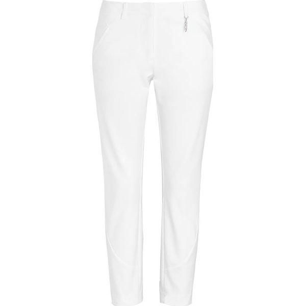 Cellbes Lekko rozciągliwe, dopasowane eleganckie spodnie biały female biały 34