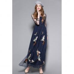 13f9c9d21d Sukienka w kolorze granatowym. Niebieskie sukienki damskie marki Zeraco