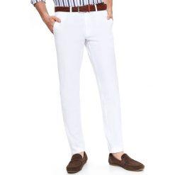 8bef88bf Białe spodnie materiałowe męskie - Kolekcja lato 2019 - Sklep Super ...