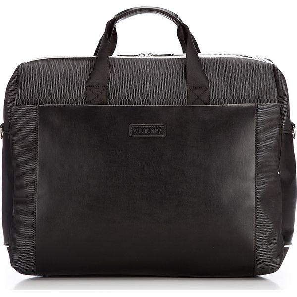 Torba na laptopa Czarne torby na laptopa damskie Wittchen