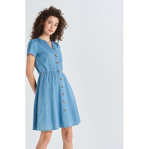 8ac9440370 Jeansowa sukienka - Niebieski - Sukienki damskie marki Sinsay. Za ...