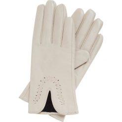 b01bc9c2da6bc Rękawiczki damskie 39-6-552-A. Białe rękawiczki damskie marki Wittchen,