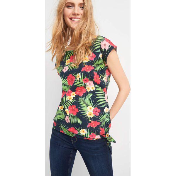 f182702a7c053d Koszulka z wakacyjnym wzorem - Bluzki damskie marki ORSAY. Za 24.99 ...