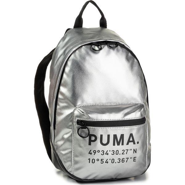 Plecak PUMA Prime Time Archive Backpack 076595 02 SilverPuma Black