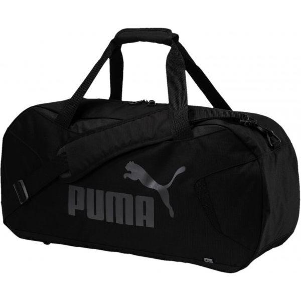 d2eeb7088ce49 Puma Torba Sportowa Gym Duffle Bag S Black - Torby podróżne damskie ...
