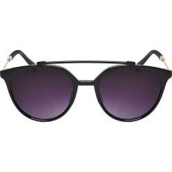 Czarne okulary przeciwsłoneczne damskie Kolekcja zima 2020