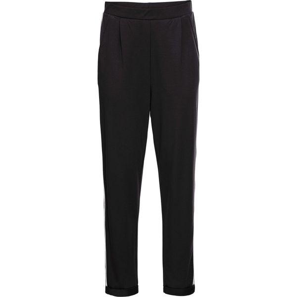 8921d0fe Spodnie alladynki bonprix czarno-biały