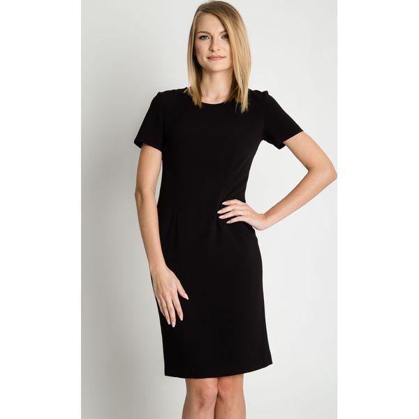 8f47e52d8e Klasyczna czarna sukienka BIALCON - Sukienki damskie marki BIALCON ...