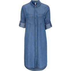 Koszula z lyocellu TENCEL™ Niebieski Niebieskie koszule  sSjod