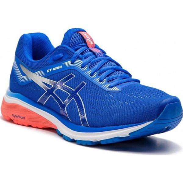 Asics GT 1000 7 męskie buty do biegania (niebiesko biało czerwony)