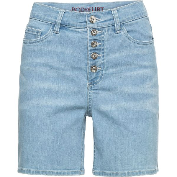 867fd58d7 Szorty dżinsowe bonprix niebieski