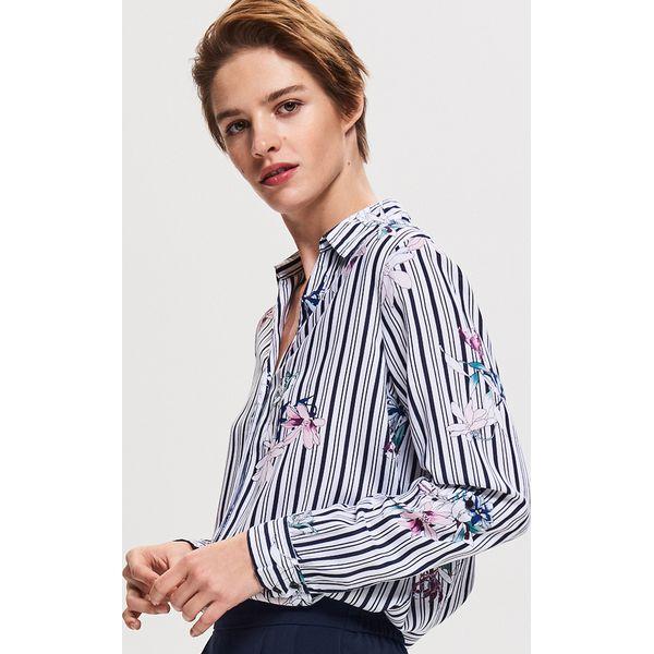 256bd1bc55ab12 Koszula z wiskozy - Wielobarwn - Koszule damskie Reserved. W ...