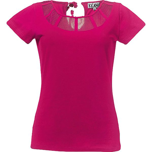 e0100ee013f4f9 Koszulka w kolorze różowym - T-shirty damskie marki Kéawa. W ...