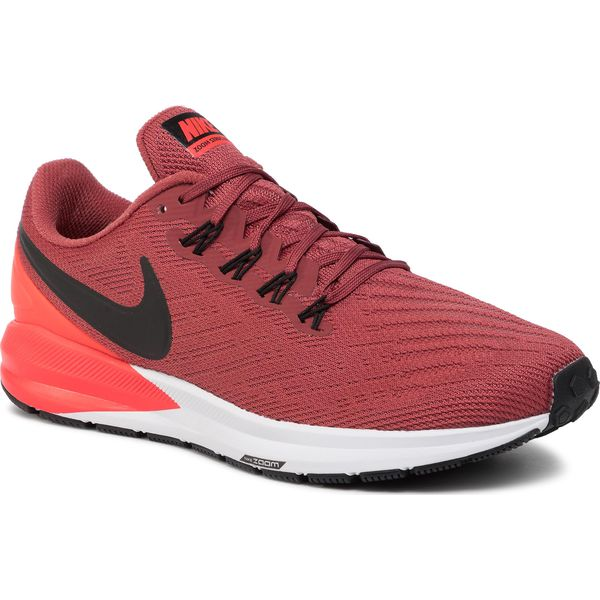 Buty NIKE Air Zoom Structure 22 AA1636 600 CedarBlackBright Crimson