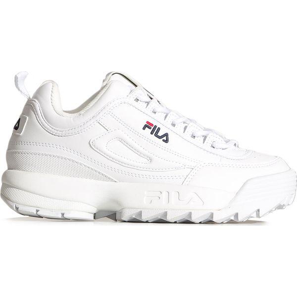Sneakersy damskie Fila bez wzorów sportowe na wiosnę