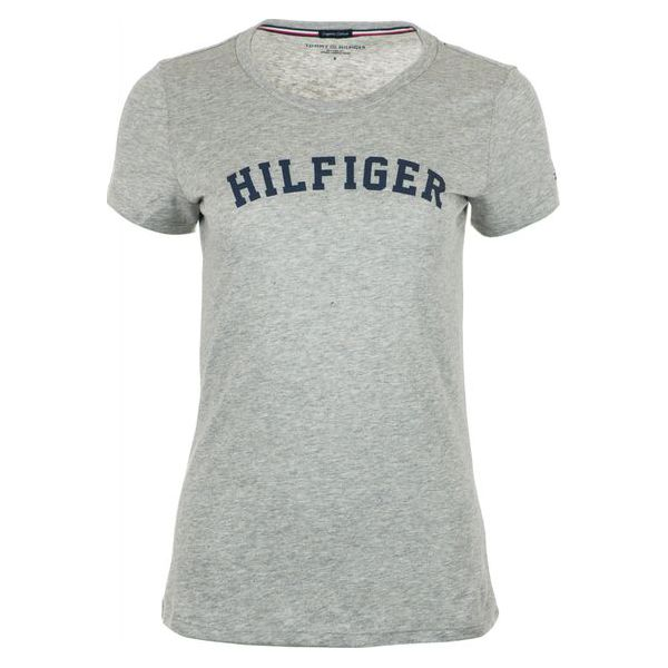 e78aa7517f20d Tommy Hilfiger T-Shirt Damski L Szary - T-shirty damskie marki Tommy ...