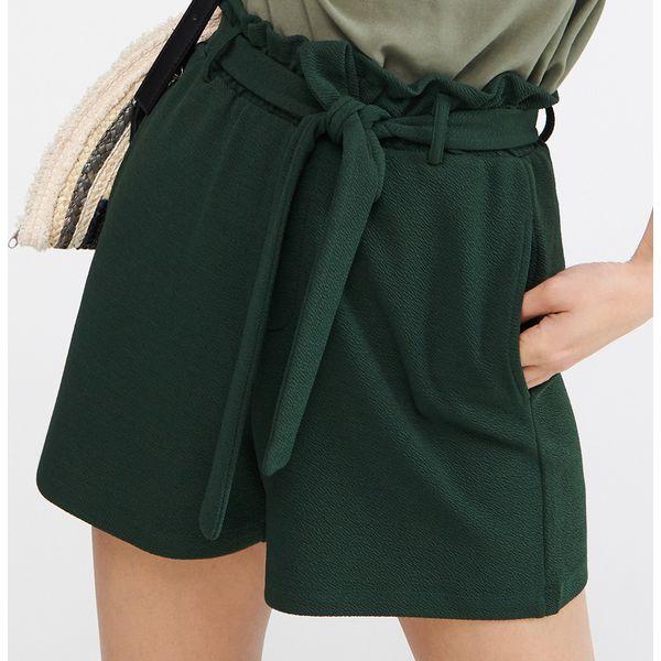 a4806b409ef247 Szorty paperbag - Khaki - Brązowe szorty damskie Reserved, bez ...