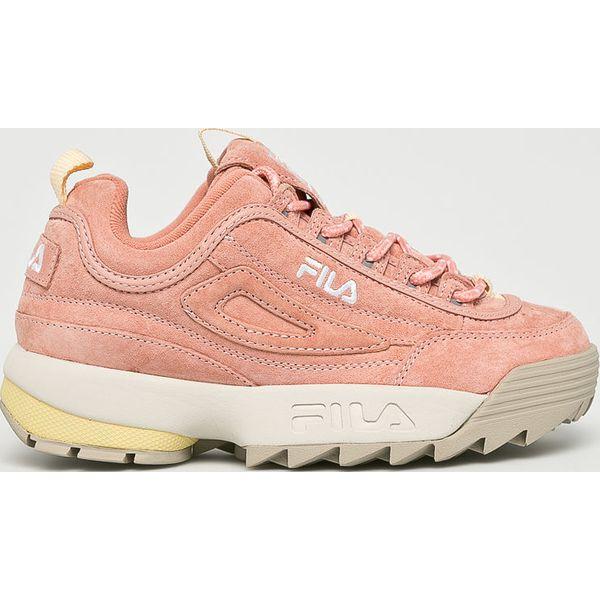 Różowe buty sportowe na co dzień damskie Fila Kolekcja