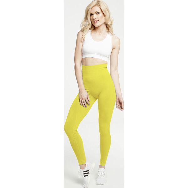 1cd748ad2af044 Gym Hero - Legginsy Yellow - Legginsy sportowe damskie Gym Hero. W ...