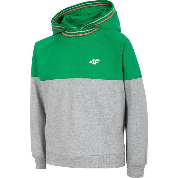 fafca2b4ffcb Bluza dziewczęca (122-164) JBLD200 - zielony - Bluzy z kapturem ...