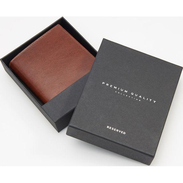 23526e1ec0444 Skórzany portfel - Beżowy - Portfele męskie marki Reserved. Za 79.99 ...