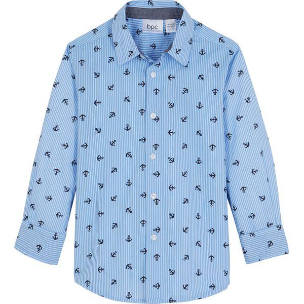 Niebieskie koszule chłopięce Kolekcja lato 2020 Sklep  izYCM
