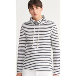 8b51f929022dd Bluza z domieszką lnu - Kremowy. Bluzy bez kaptura męskie marki Reserved.  Za 79.99