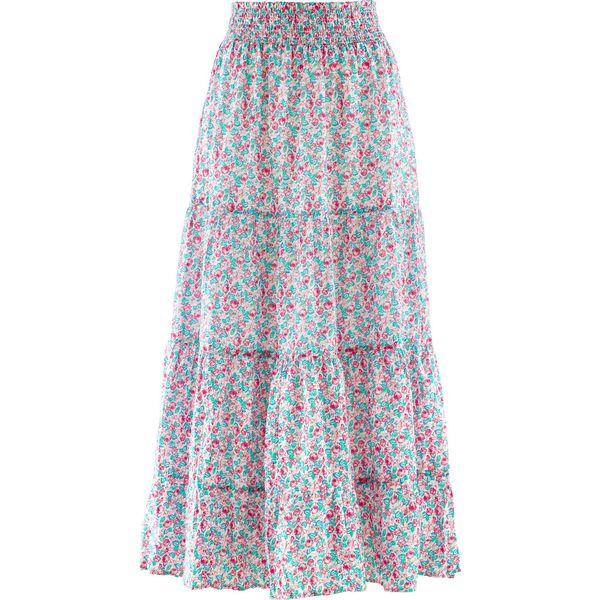 Poważnie Długa spódnica, kolekcja Maite Kelly bonprix perłowy jasnoróżowy w OX49