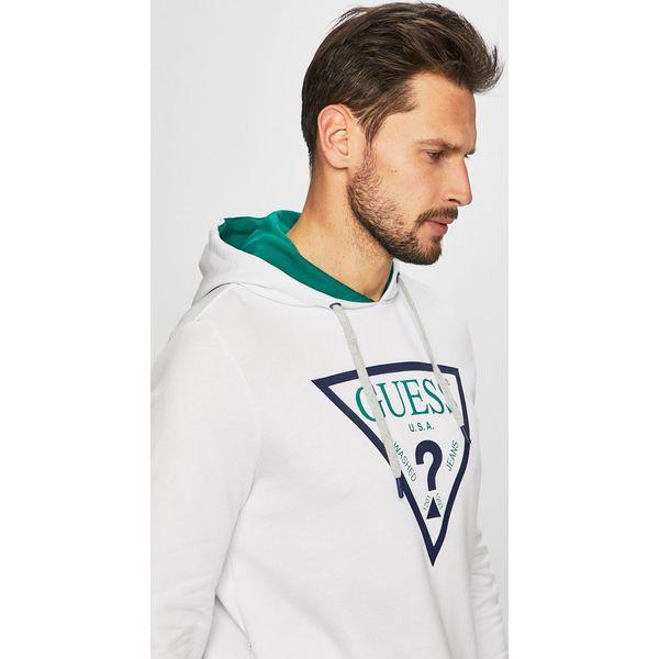 4d51428fbe803 Guess Jeans - Bluza - Bluzy z kapturem męskie marki Guess Jeans. W  wyprzedaży za 299.90 zł. - Bluzy z kapturem męskie - Bluzy i swetry męskie  - Odzież męska ...