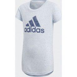 d546c8647b6a98 Adidas. Ubrania dla dzieci. 55.00 zł. Koszulka dziewczęca YG ID Fabr Tee  szara r. 170 cm (CF6740). Koszulki