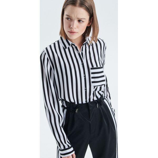 4a18e9eae226 Koszula o klasycznym kroju - Czarny - Koszule damskie marki Cropp ...