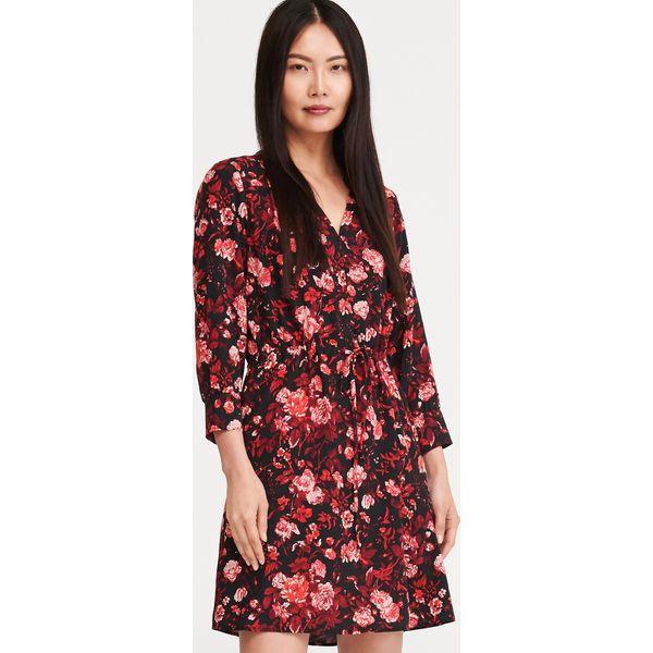 Sukienka w kwiaty Wielobarwny