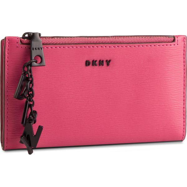 2dbbdf26ec37f Duży Portfel Damski DKNY - R91Z3A63 Pink PNK - Czerwone portfele ...