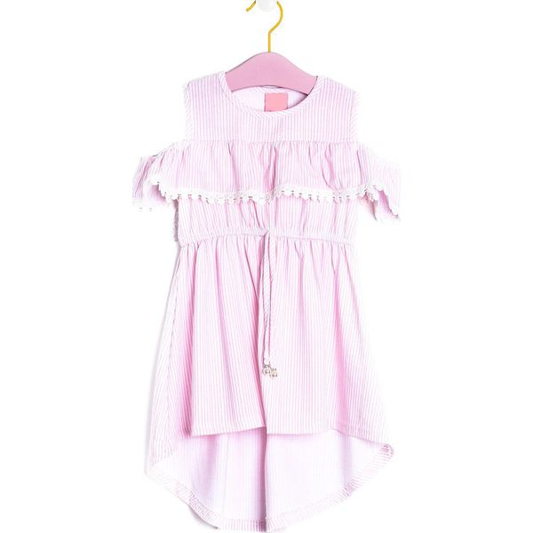 ee7358d4e6 Różowa Sukienka Windowless - Sukienki niemowlęce marki Born2be. Za ...