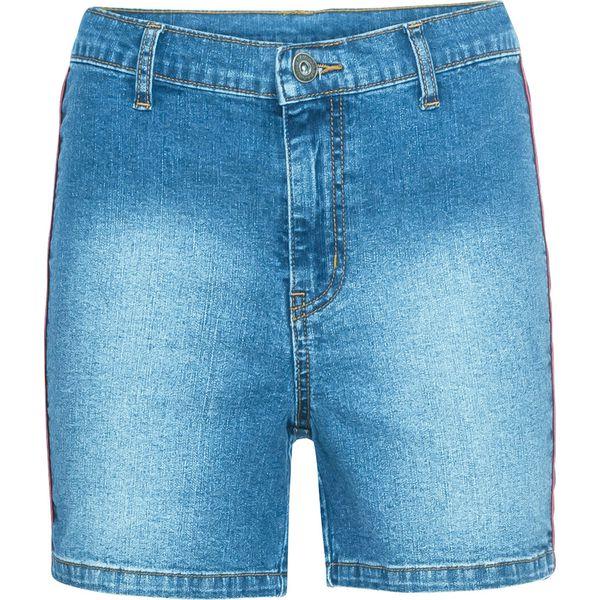 bed7cf161 Szorty dżinsowe bonprix niebieski