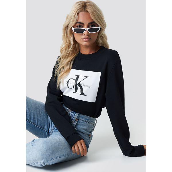 61cf6b7ad93 Calvin Klein Bluza Hebe True Icon - Black