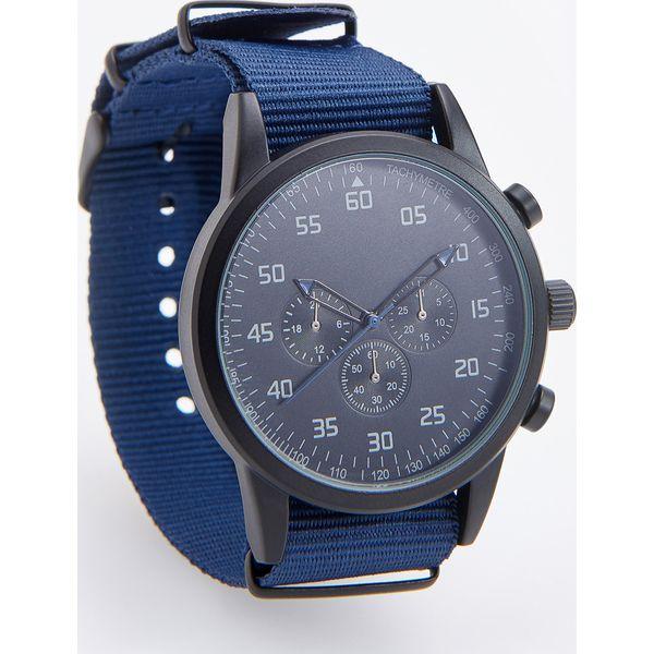 Wybitny Zegarek w sportowym stylu - Granatowy - Zegarki męskie marki VY22